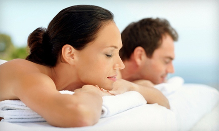 Parma Spa and Center for Health - Old Courthouse: $199 for a Couples Massage Package with Wine or Champagne at Parma Spa and Center for Health ($450 Value)