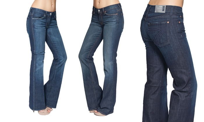 7 For All Mankind Women's Denim | Groupon Goods