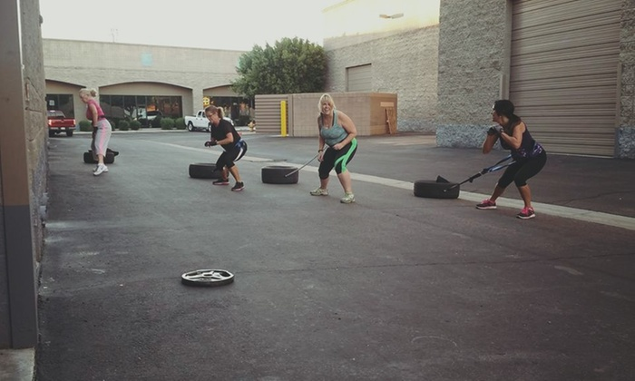 Upscale Fitness - Superstition Springs: Four Weeks of Unlimited Boot-Camp Classes at Upscale Fitness (67% Off)