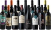 Splash Wines: 15 Bottles of Winter Red Wine with Wine Thermometer from Splash Wines (Up to 77% Off)