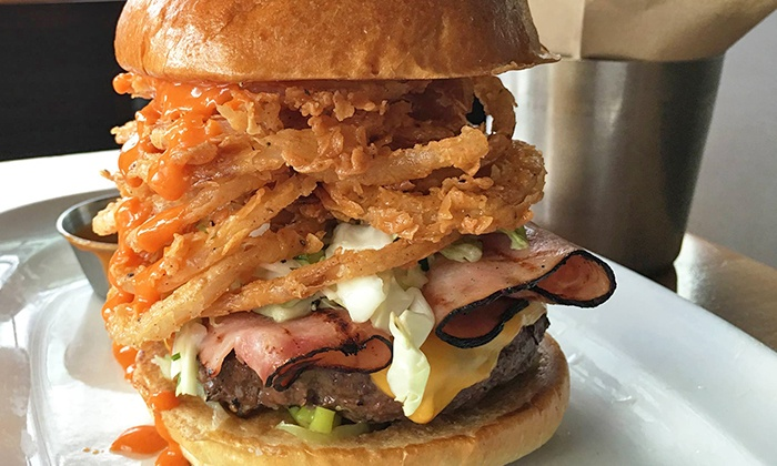 The Counter - Downtown Phoenix: Build-Your-Own Gourmet Burgers and Milkshakes at Dinner for Two or Four at The Counter (50% Off)