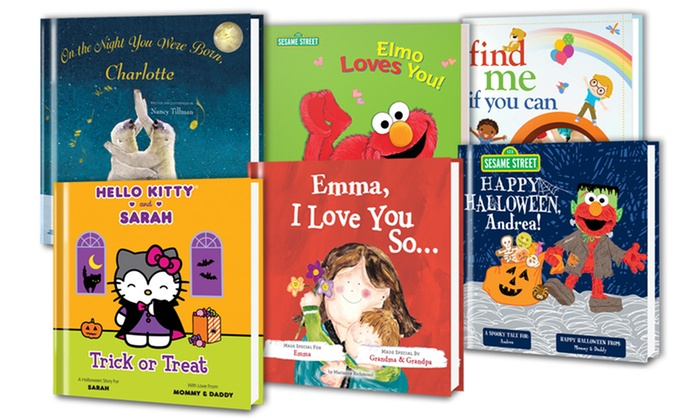 Put Me In The Story: Personalized Kids' Books from Putmeinthestory.com (50% Off)