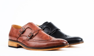 Signature Men's Monk Strap Dress Shoes at Signature Men's Monk Strap Dress Shoes, plus 6.0% Cash Back from Ebates.