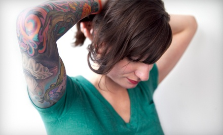 Three Sessions on Area Up to 3, 6, or 10 Square Inches at Pure Tattoo Removal (Up to 67% Off)