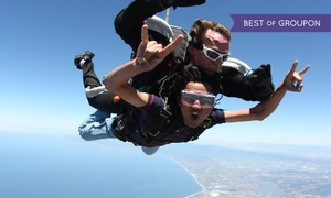 Skydive Monterey Bay: Weekday or Weekend VIP Tandem Jump for One, Two, or Four at Skydive Monterey Bay (Up to 37% Off)