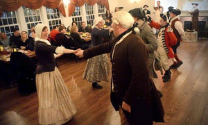 Boston Tea Party Ships & Museum: $69 for Admission for 2 to Tavern Nights Experience at Boston Tea Party Ships & Museum ($90 value)