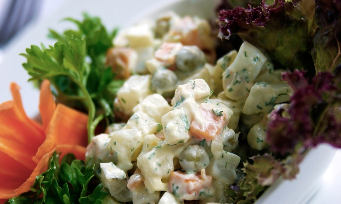 Matryoshka - City Centre: Russian Food at Matryoshka (Up to 50% Off). Three Options Available.