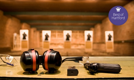 Shooting-Range Package for One or Two from Sgt Foster's (Up to 53% Off)