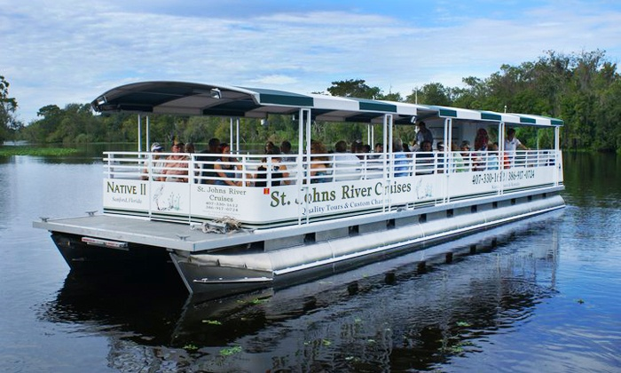 St. Johns River Cruises - Orange City: $12 for a Two-Hour Narrated Ecological River Cruise from St. Johns River Cruises (Up to $22 Value)