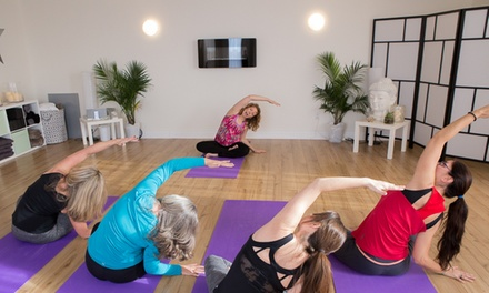 Up to 52% Off yoga classes at Flourish Vitality Centre