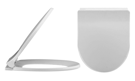 The Best Deal Guide - null:Soft Close D-Shape Toilet Seat