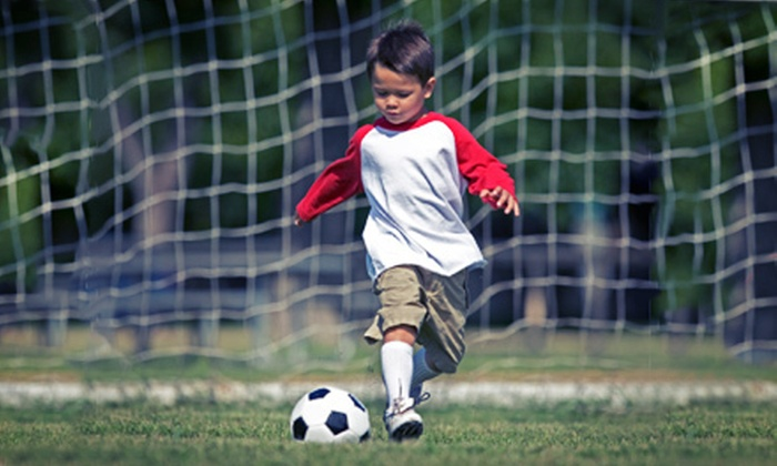 HappyFeet - Richland VIII: Youth Super Skills Clinic or Six-Week Youth Soccer League at HappyFeet (Up to 54% Off). Five Options Available.
