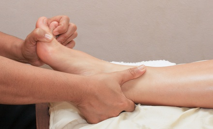 One, Two, or Three Reflexology Sessions at Positive Living Center (Up to 58% Off)