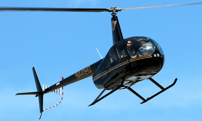 Select Helicopters - Select Helicopters: 30- or 50-Minute Helicopter Tour of Local Sights for Two from Select Helicopters (48% Off)