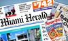 """Miami Herald: $9 for a 12-Month Sunday Subscription to the """"Miami Herald"""" ($104 Value)"""