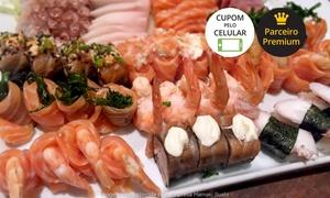 Hamaki Sushi: Hamaki Sushi – Pinheiros:rodízio para 1 ou 2 pessoas com sobremesa (todos os dias)