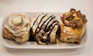 Cinnabon: Cinnamon Rolls at Cinnabon (Up to 42% Off). Two Options Available.