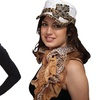 The Alabama Girl Zebra or Leopard Print Scarves