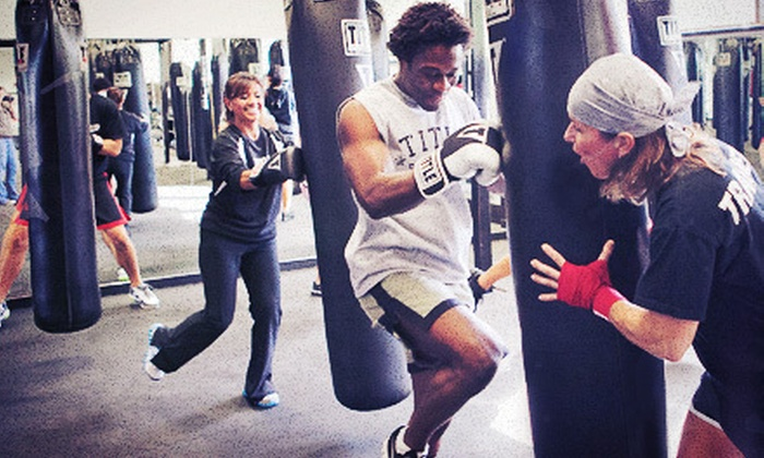 TITLE Boxing Club - Missouri City: $19 for 10 Consecutive Days of Unlimited Boxing and Kickboxing Classes at Title Boxing Club ($69 Value)
