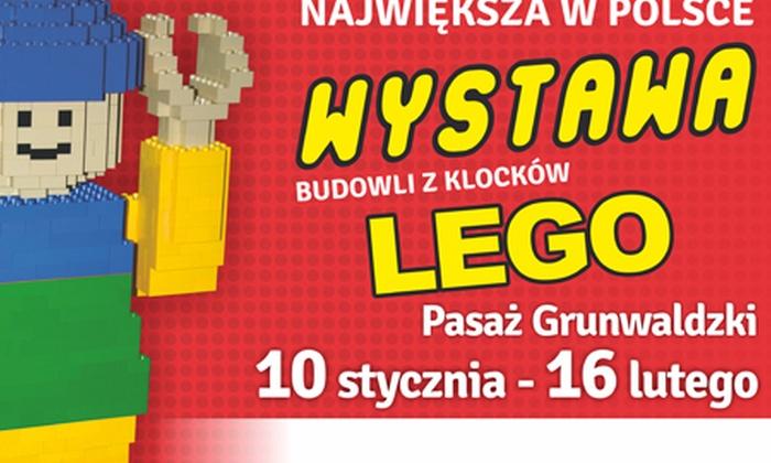 Klockomania Sp z. o.o - Wrocław: Wystawa budowli z klocków LEGO: wejście dla 2 osób od 11,99 zł w Pasażu Grunwaldzkim (do -50%)