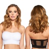 3-Pack of Women's Black Fuchsia Cage Back Bandeaus