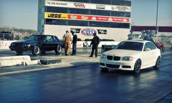 Lucas Oil Raceway - Lincoln: One or Three Entries into Wild Wednesday Drag Races at Lucas Oil Raceway (Up to 58% Off)