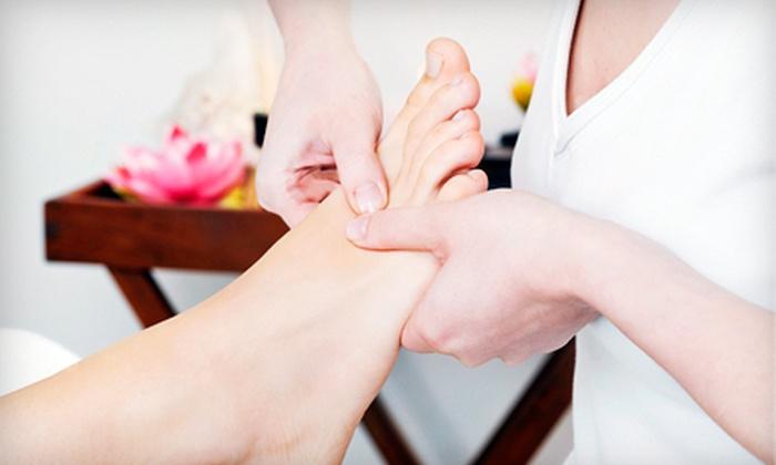 Castle Nails & Spa - Huntsville: $27 for a 60-Minute Reflexology Massage at Castle Nails & Spa ($55 Value)