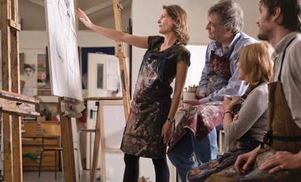 One-Hour Painting Lesson at Sara Srubar-Erb Fine Artist (55% Off)