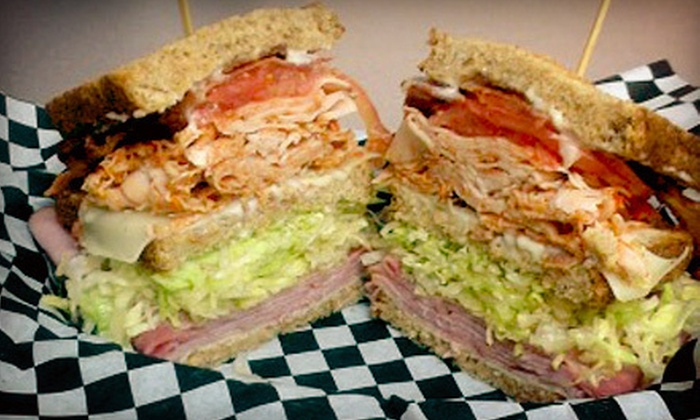 Simple Sands Deli - Pasadena: Breakfast Food, Wraps, and Sandwiches, or Gourmet Meats at Simple Sands Deli (Half Off)