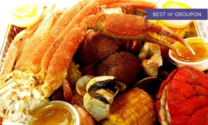 The Seafood Bistro: $14 for $20 Worth of Cajun Seafood at The Seafood Bistro