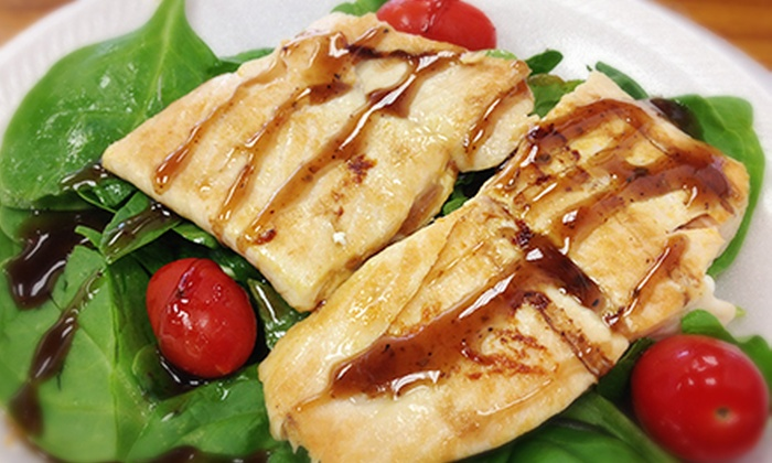 Fix8 Fitness Cafe - Paradise: $12 for $24 Worth of Healthy Food at Fix8 Fitness Cafe
