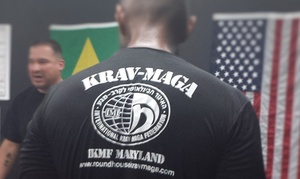 Roundhouse Martial Arts & Krav Maga: $29 for One Month Membership for Krav Maga Self Defense Classes at Roundhouse Martial Arts & Krav Maga ($120 value)