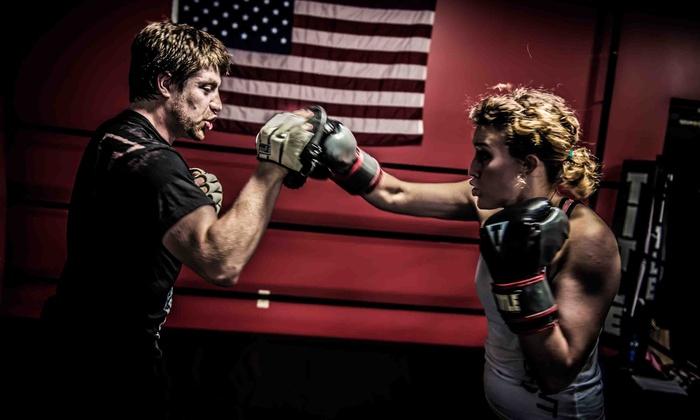 TITLE Boxing Club - Wichita - Wichita: $19 for $50 Worth of Boxing Lessons — Title Boxing Club