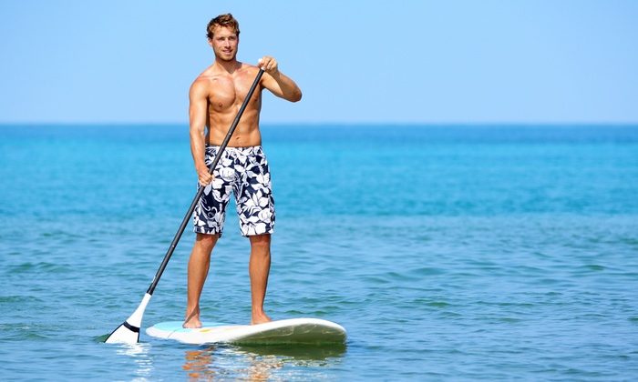 WhaSUP - Troy: 4-Hour Standup-Paddleboard Rental or 1-Hour Rental and 2-Hour Class for One or Two from WhaSUP (Up to 51% Off)