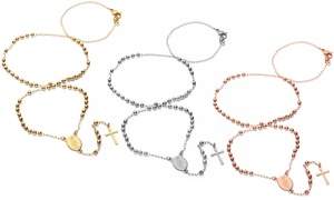 Rosary Necklaces in Stainless Steel at Rosary Necklaces in Stainless Steel, plus 6.0% Cash Back from Ebates.