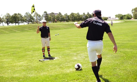 $30 for Footgolf Tournament Entry from Illinois Footgolf Association ($50 Value). Six Dates Available.