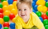 Kidville - Hoboken: Kids' Indoor Play Package for One or Two Children at Kidville (Up to 75% Off)