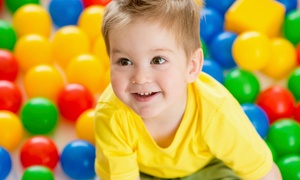 Kidville: $65 for a Kids' Indoor Play Package with Three Enrichment Classes and Three Playspace Passes at Kidville ($313 Value)