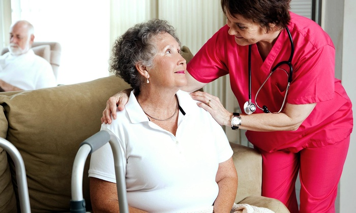 Home Helping Hands Care - Inland Empire: Eight-Hour Stay with Services for Seniors at Home Helping Hands Care (45% Off)