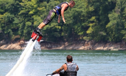 Flyboarding Session with Go-Pro Recording for Two or Four at Tennessee Flyboard (Up to 46% Off)