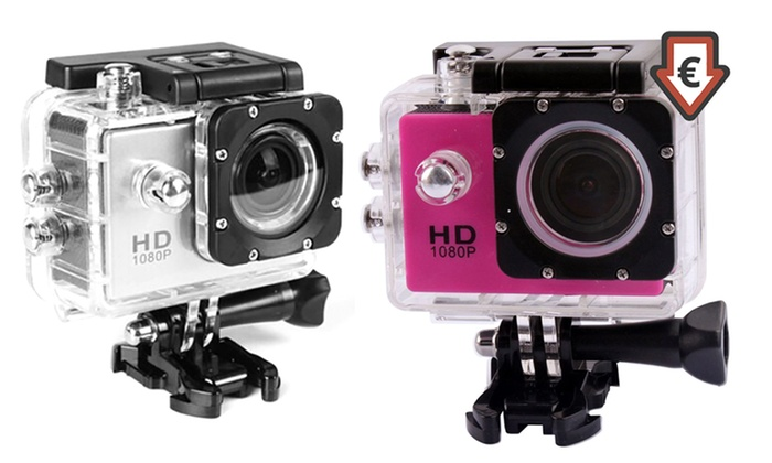 Groupon Goods Global GmbH: AdventurePro Water-Resistant HD1080p Sports Camera for €24.99 With Free Delivery (Up to 73% Off)