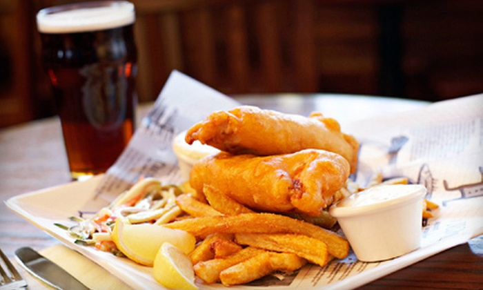 The Irish Pub - Historic Third Ward: $12 for Two Drinks and One Appetizer at The Irish Pub (Up to $23 Value)