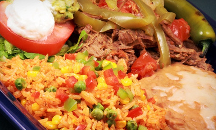 Cantinflas Restaurant & Bar - Downtown: Mexican Cuisine at Cantinflas Restaurant & Bar (Half Off). Two Options Available.
