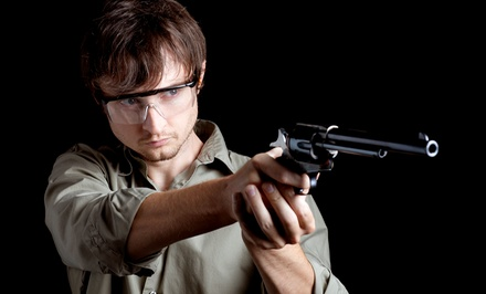 Shooting-Simulation Sessions for Two or Three at Gilbert Indoor Range (Up to 50% Off)