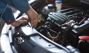 GTS Auto Care: Full Car Service with Oil and Filter Change for One ($49) or Two Cars ($89) at GTS Auto Care (Up to $498 Value)