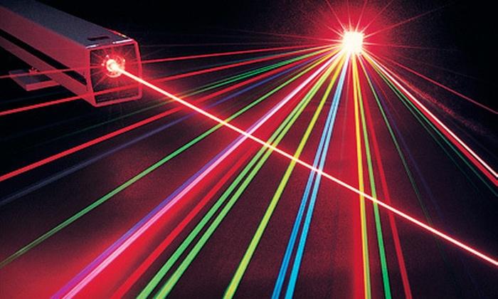 StraTAGem Laser Missions - Frankfort: $10 Toward Laser Tag