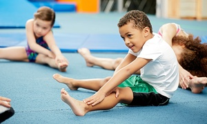 Gymnastics Elite: Four or Eight Kids Gymnastics Classes in One Month at Gymnastics Elite (Up to 67% Off)