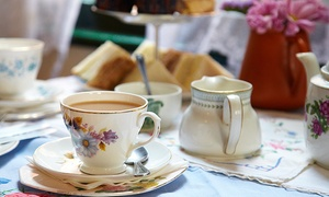 Bar à Beurre: High Tea Package with Snacks for Two or Four at Bar à Beurre (Up to 46% Off)