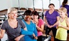 Get In Shape for Women - Ballantyne Commons East Shopping Center: 8 or 13 Group Training Sessions Plus 2 Nutrition Sessions at Get In Shape For Women (66% Off)