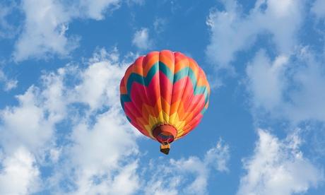 Wertgutschein über 95 € anrechenbar auf eine Ballonfahrt inkl. Erinnerungs-DVD bei Feuervogel Hot Air Ballonteam